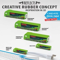 refects creative rubber concept